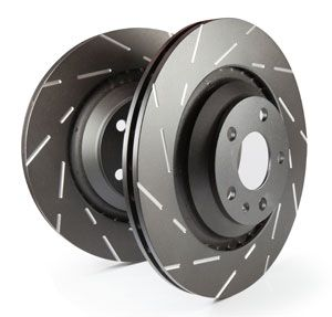 EBC Brake Disks (Slotted) Front - Mk4 Focus ST